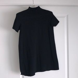 Zara Mock neck T-shirt dress